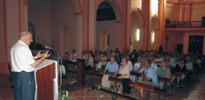 Conferencia de Adolfo Yus en Blesa
