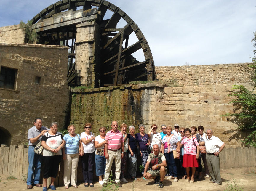 Viaje turístico. Blesinos en el monasterio de Rueda
