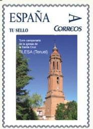 Sello postal Tu sello Blesa 2010